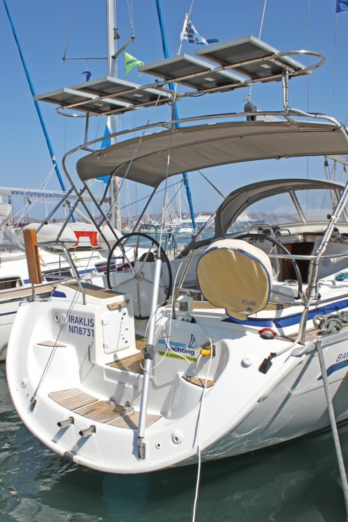 Bavaria Cruiser 42 between personal and professional Peloponnese