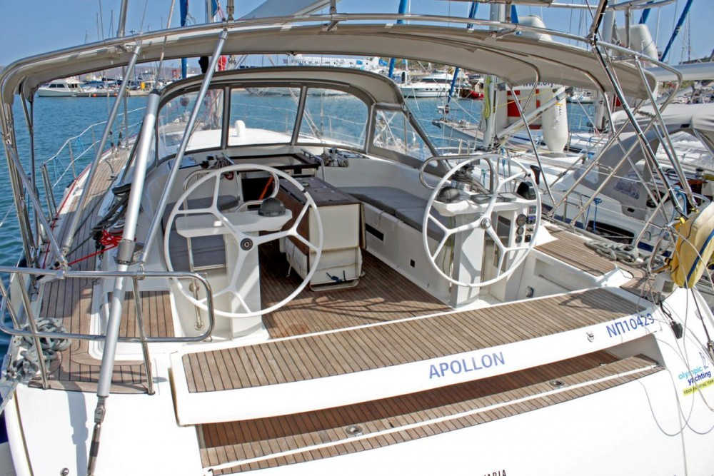 Bavaria Cruiser 55 between personal and professional Peloponnese
