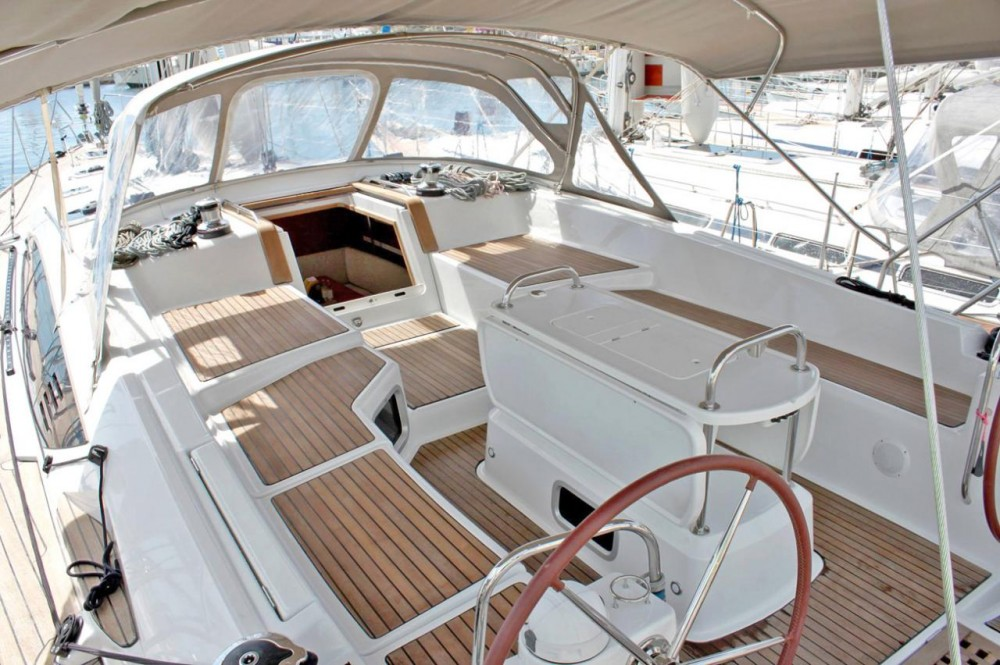 Boat rental Peloponnese cheap Jeanneau 53