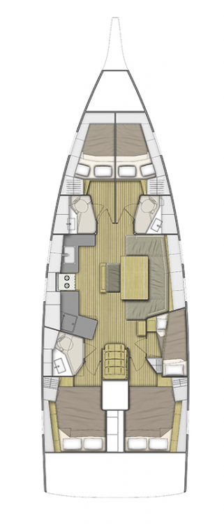 Boat rental Peloponnese cheap Oceanis 46.1