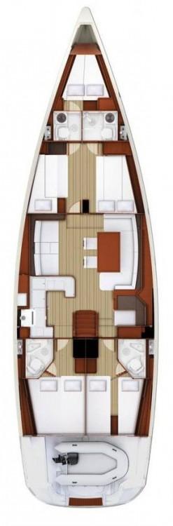 Boat rental Jeanneau Jeanneau 58 in Peloponnese on Samboat