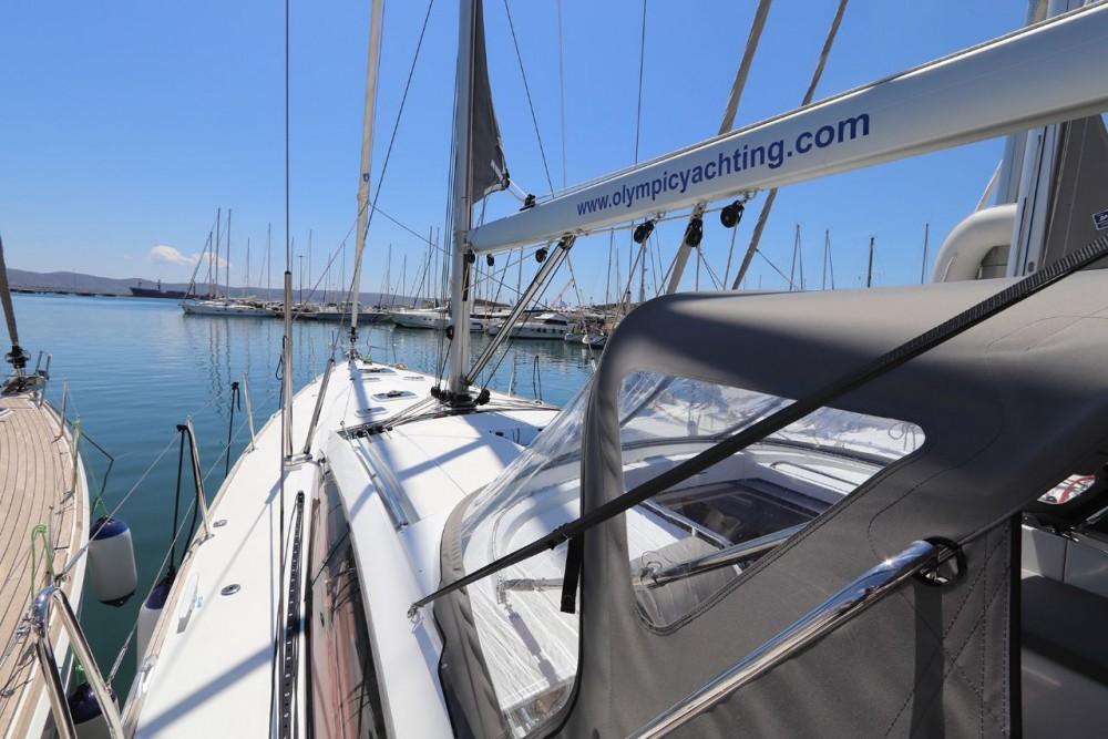 Boat rental Peloponnese cheap Jeanneau 58