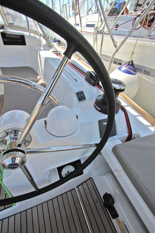 Boat rental South Aegean cheap Sun Odyssey 449