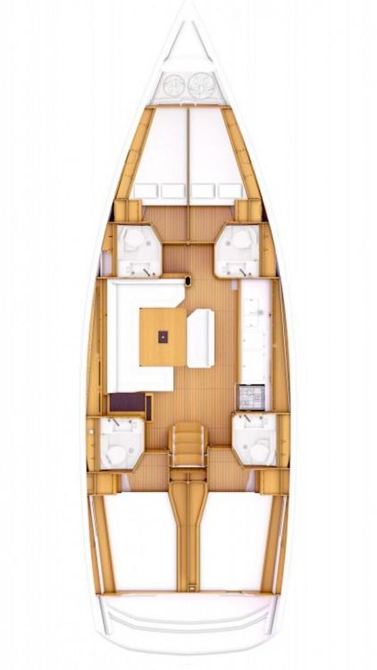 Boat rental Peloponnese cheap Sun Odyssey 479