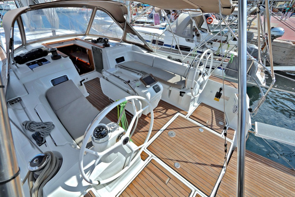 Jeanneau Sun Odyssey 479 between personal and professional Peloponnese
