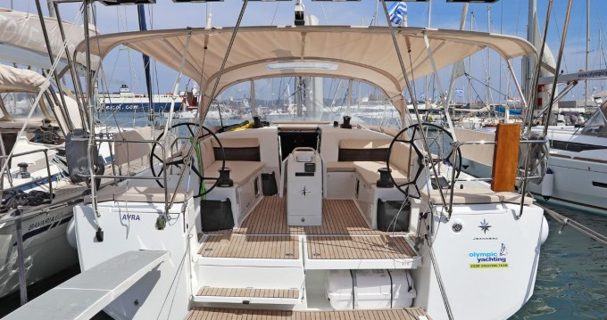 Boat rental Lávrio cheap Sun Odyssey 490