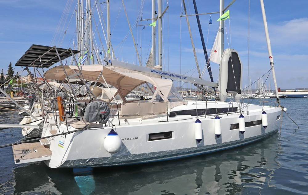 Hire Sailboat with or without skipper Jeanneau Peloponneso