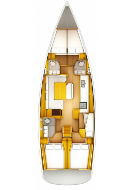 Jeanneau Sun Odyssey 509 between personal and professional Peloponnese