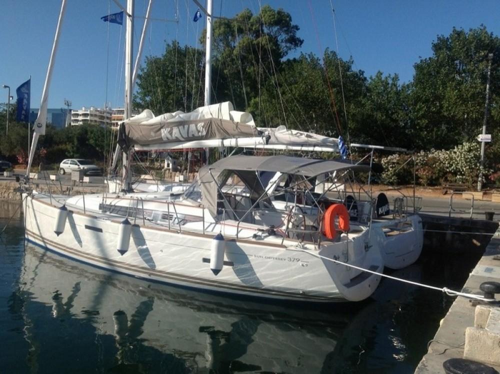 Boat rental Peloponnese cheap Sun Odyssey 379