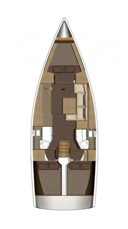 Rental Sailboat in  - Dufour Dufour 382 Grand Large