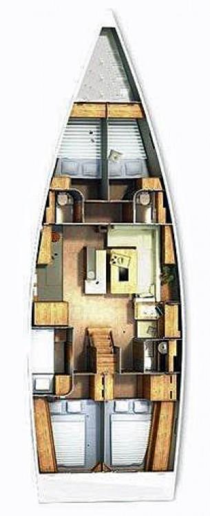 Rental yacht Seget Donji - Hanse Hanse 505 on SamBoat