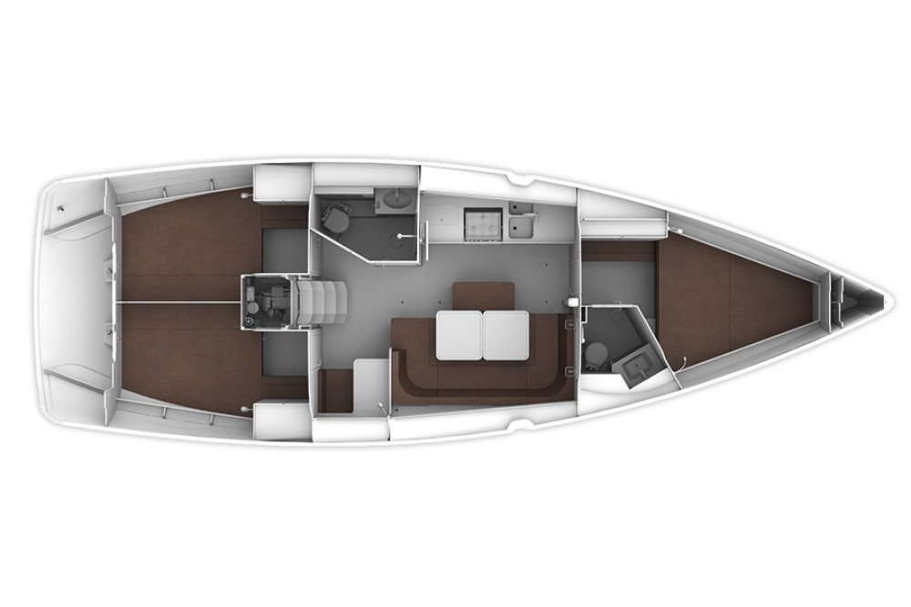 Boat rental Bavaria Cruiser 41 in Murter on Samboat