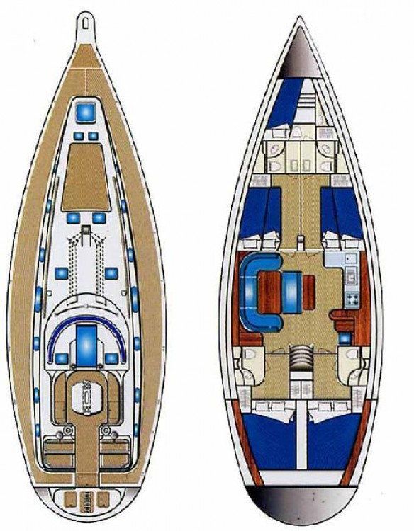 Hire Sailboat with or without skipper Ocean Star Peloponnese