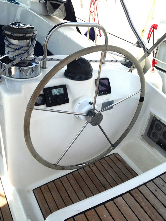 Rental Sailboat Ocean Star with a permit