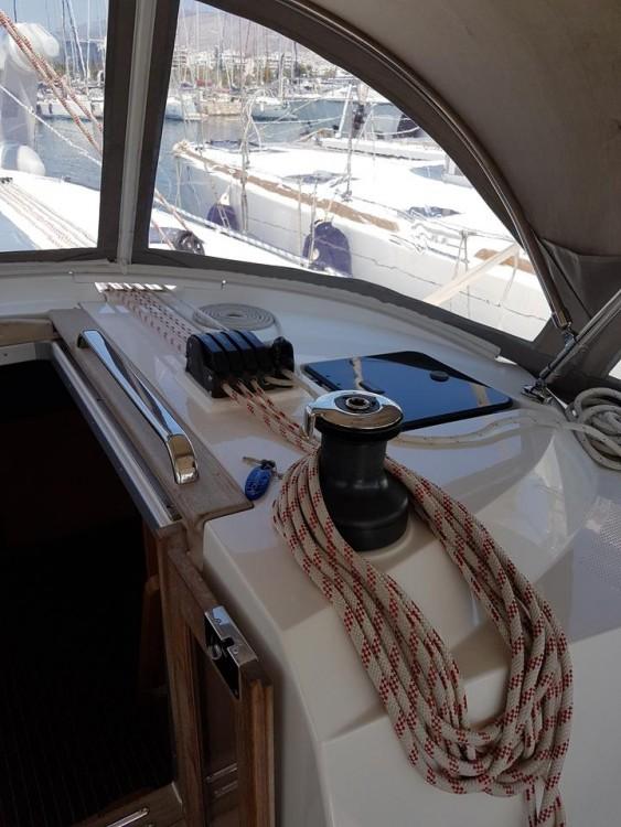Bavaria Cruiser 46 between personal and professional Lefkada