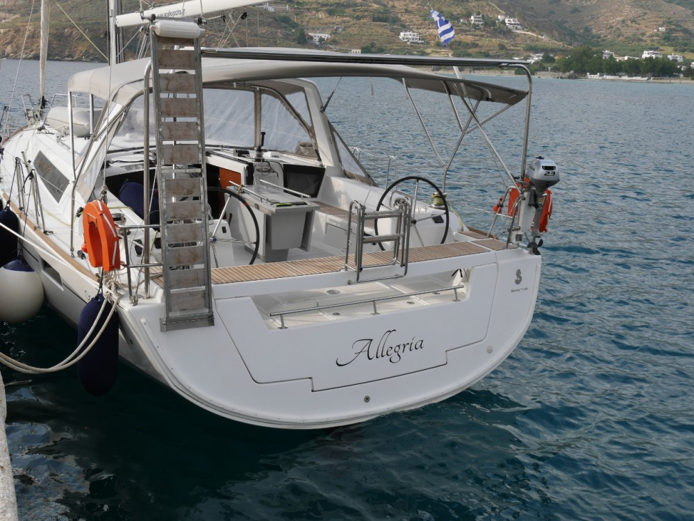 Bénéteau Oceanis 45 between personal and professional Lefkada
