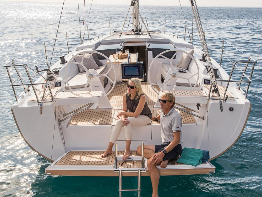 Boat rental Rogosnizza cheap Hanse 418 - 3 cab.