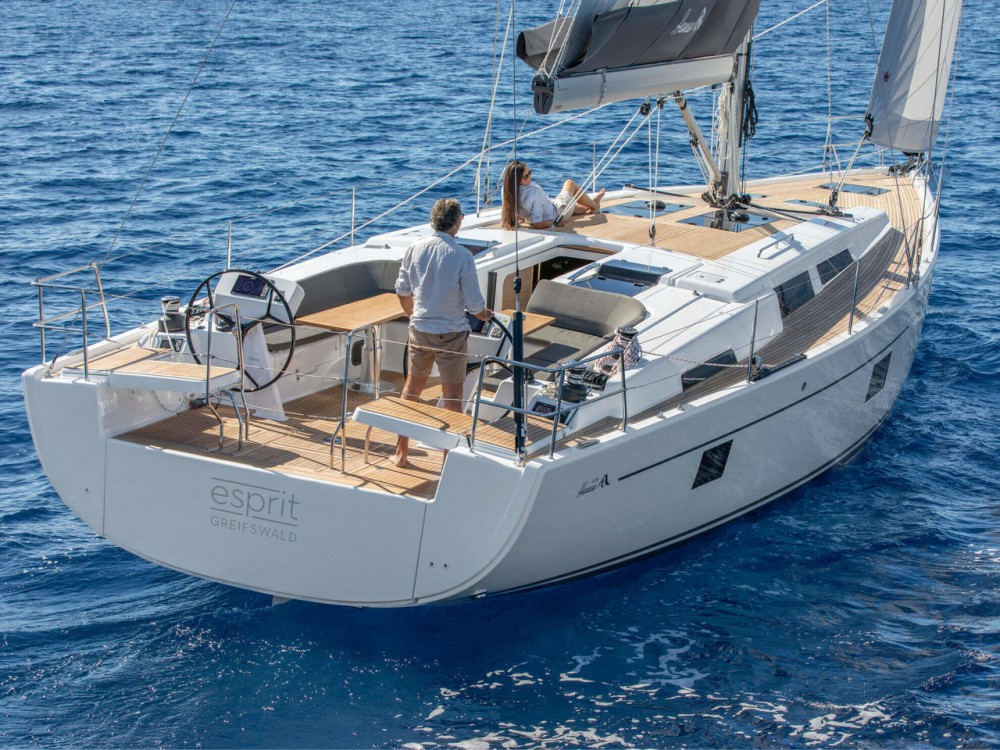 Boat rental  cheap Hanse 508