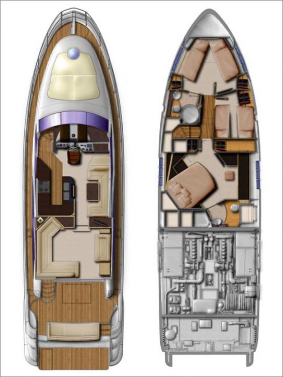 Azimut-Benetti-Yachts Azimut 58 between personal and professional Šibenik