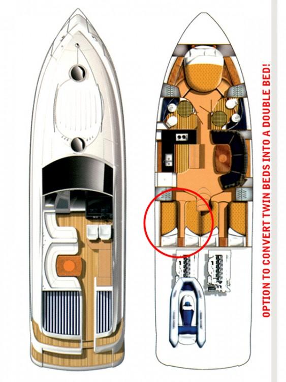 Fairline-Boats Fairline Targa 52 GT between personal and professional Šibenik