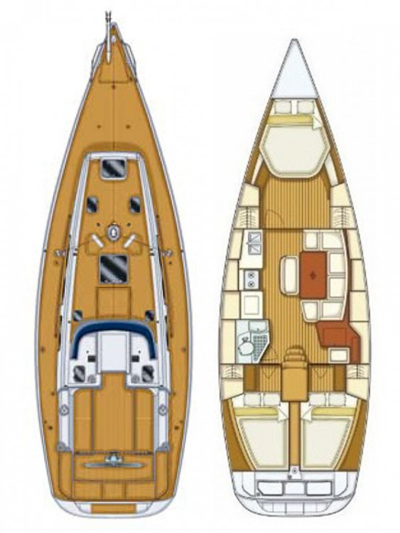 Boat rental Cantiere Del Pardo Grand Soleil 40 in Šibenik on Samboat