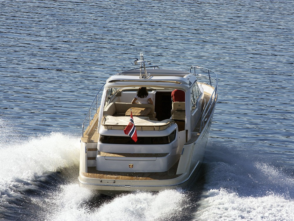Rental Motor boat Marex with a permit