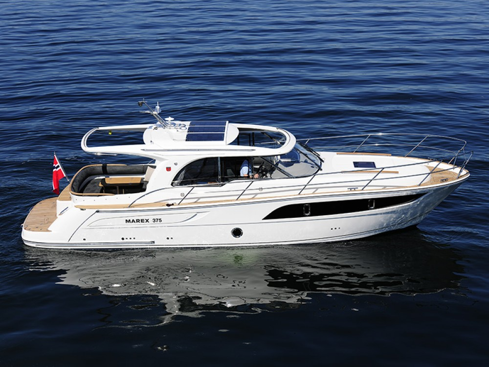 Marex Marex 375 between personal and professional Šibenik