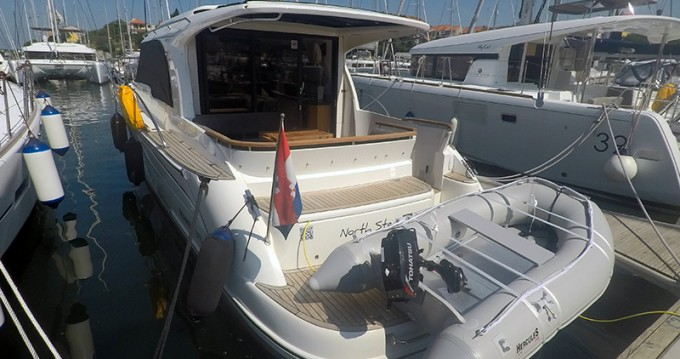 Rental Motorboat Marex with a permit