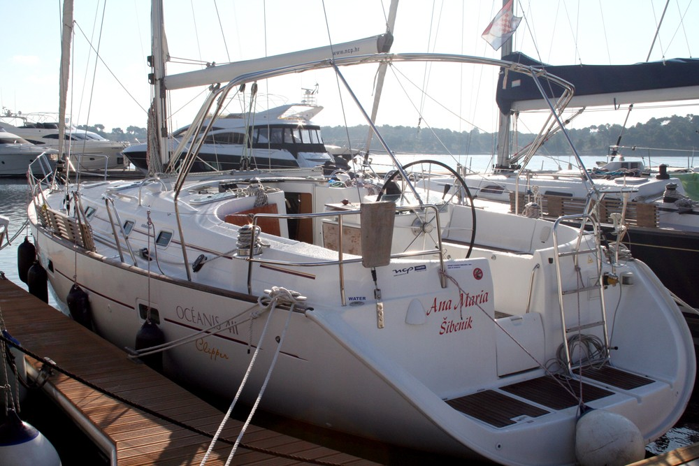 Boat rental Šibenik cheap Oceanis