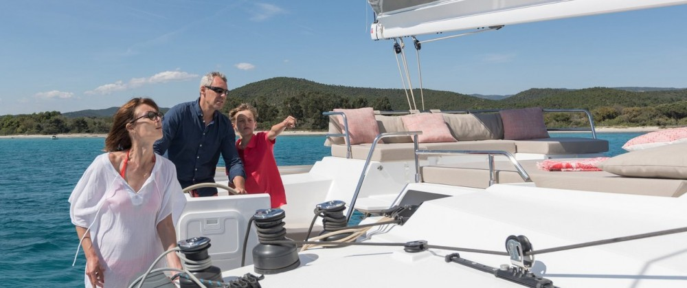 Hire Catamaran with or without skipper Fountaine Pajot Peloponneso