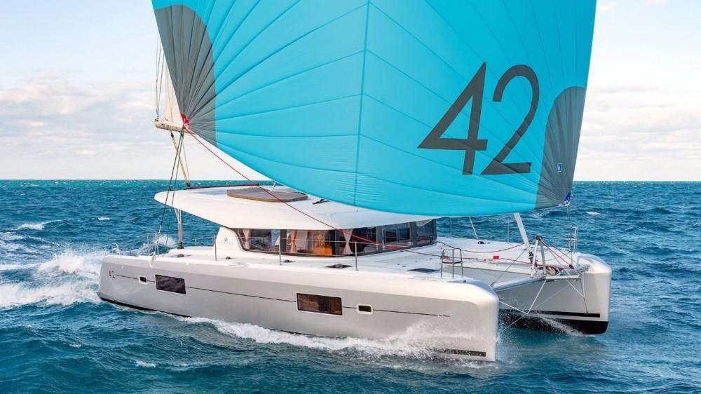 Boat rental Peloponnese cheap Lagoon 42