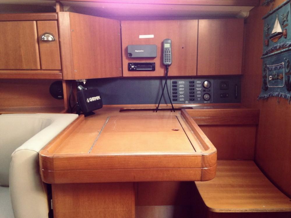 Boat rental Peloponnese cheap Dufour 385 Grand Large