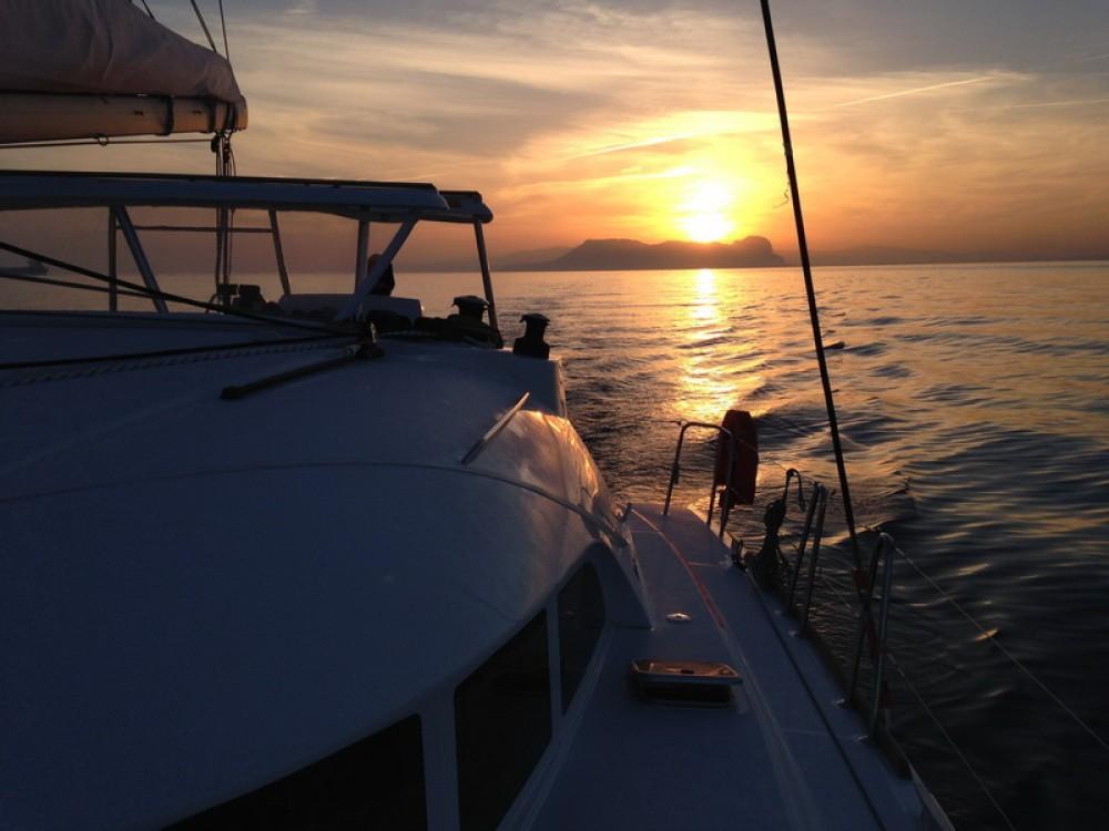 Boat rental Peloponnese cheap Lagoon 380 S2