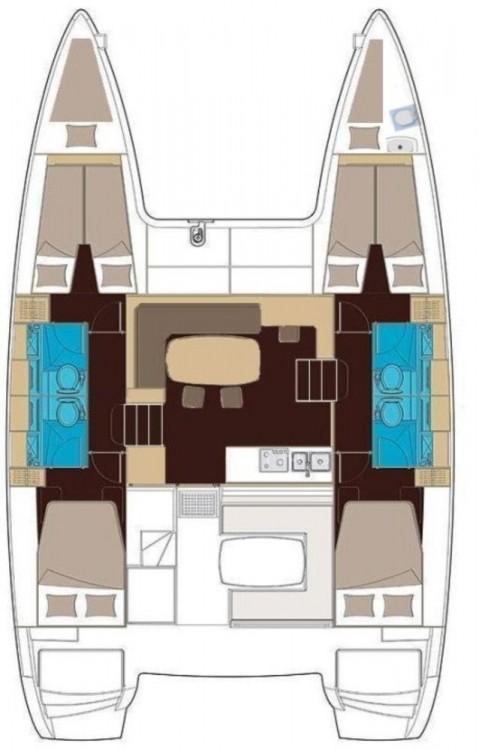 Boat rental Peloponnese cheap Lagoon 400