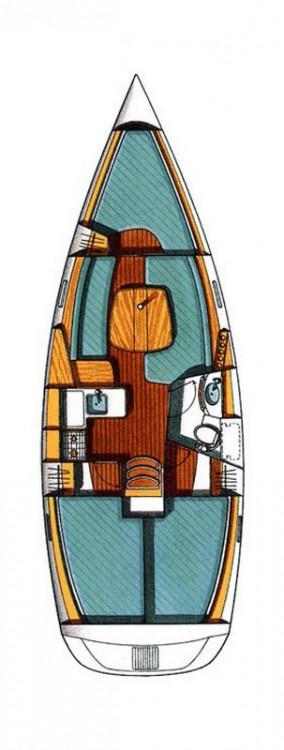 Rental Sailboat in Peloponnese - Bénéteau Oceanis
