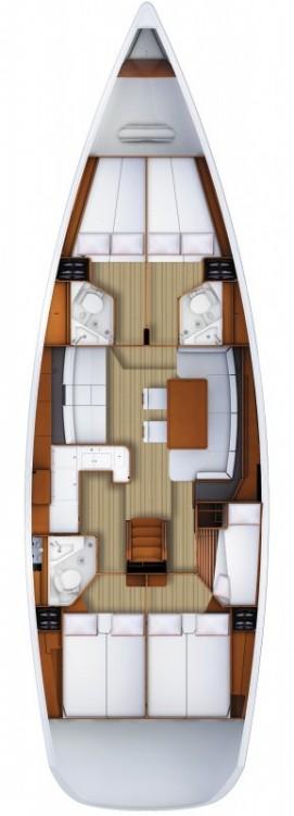 Boat rental Jeanneau Jeanneau 53 in Naples on Samboat