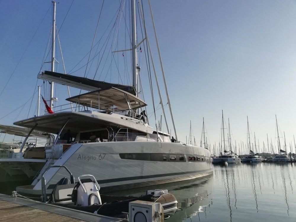 Boat rental Porto di Castellammare di Stabia cheap Alegria 67
