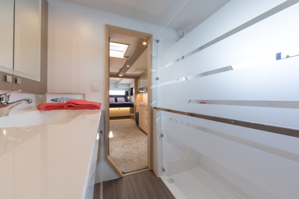 Hire Catamaran with or without skipper Fountaine Pajot Toscana