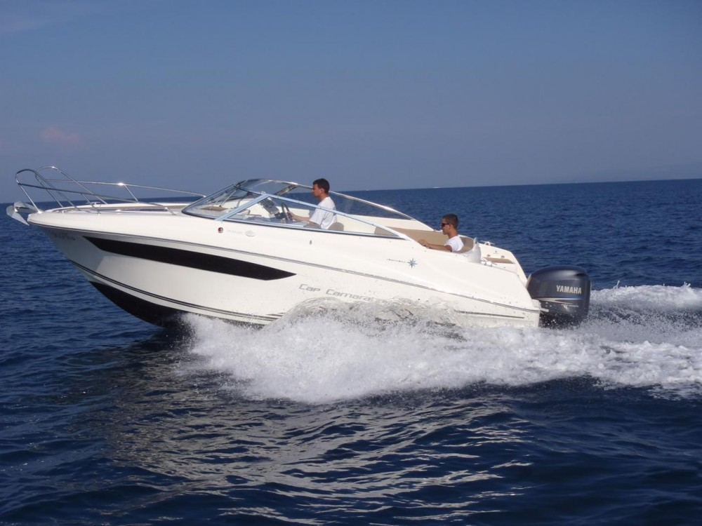 Rental Motor boat in  - Jeanneau Cap Camarat 7.5 DC