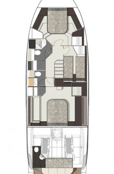Rental Motorboat in  - Cranchi E 52 F