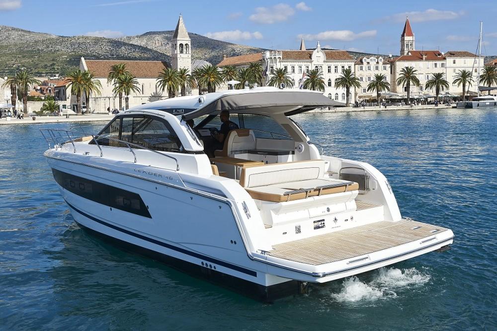 Boat rental Trogir cheap Leader 40