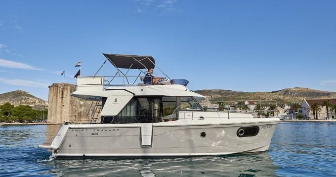 Boat rental Trogir cheap Swift Trawler 30