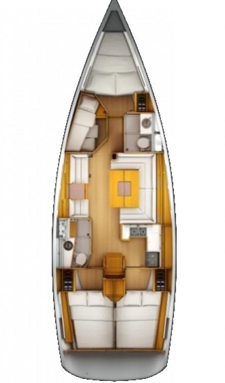 Boat rental Corfu cheap Sun Odyssey 439