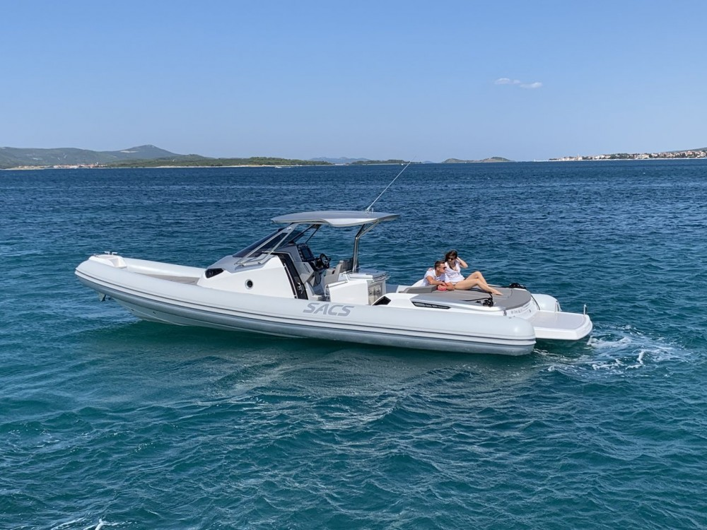 Hire Motorboat with or without skipper Sacs Croatia