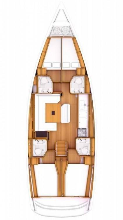 Rental Sailboat in Corfu - Jeanneau Sun Odyssey 479 - 4 cab.