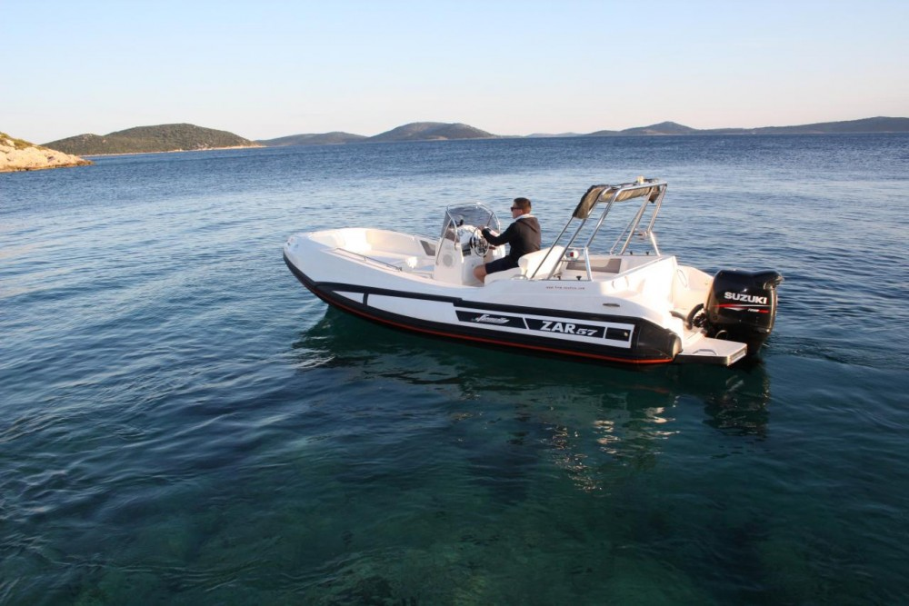 Hire RIB with or without skipper Zar-Formenti-Srl