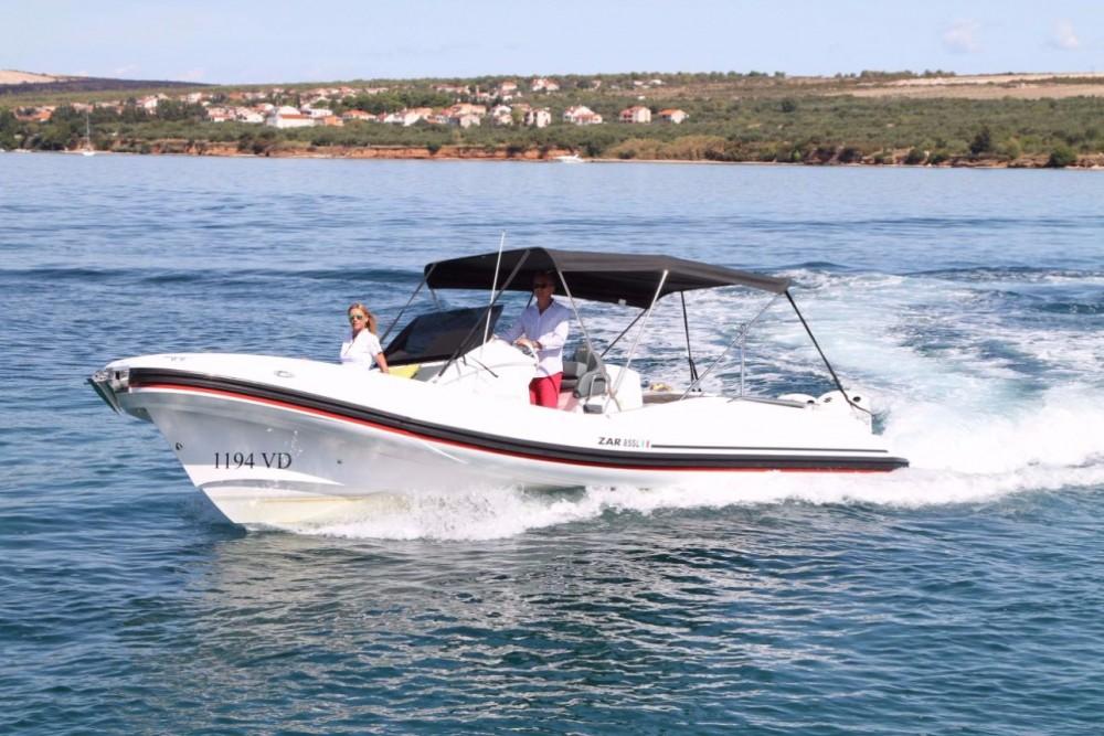 Hire RIB with or without skipper Zar-Formenti-Srl Croatia
