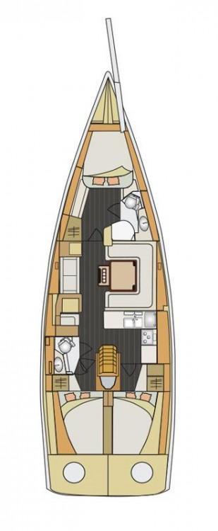 Boat rental Elan Elan 450 in  on Samboat