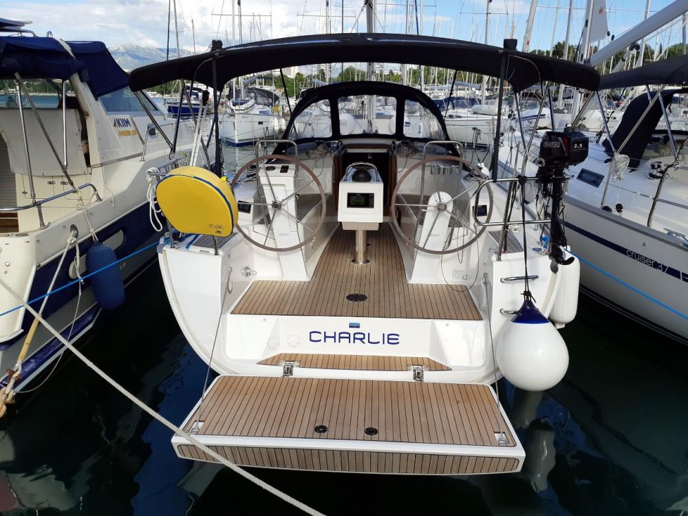 Bavaria Cruiser 34 between personal and professional Split