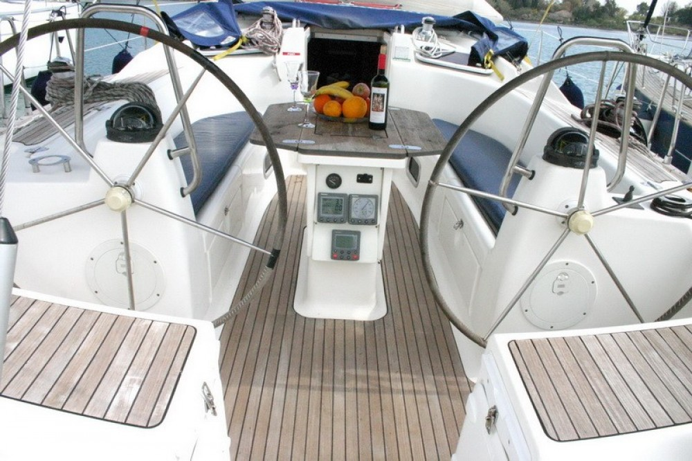 Bavaria Cruiser 46 between personal and professional Corfù